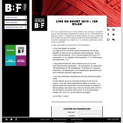 Lire en short 2015 : 1er bilan: Du 17 au 31 juillet 2015, Lire en short, la fête du livre jeunesse, a ras... #BBF