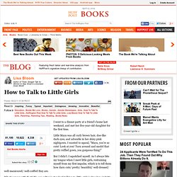 Lisa Bloom: How to Talk to Little Girls