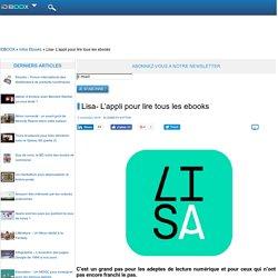 Lisa- L'appli pour lire tous les ebooks