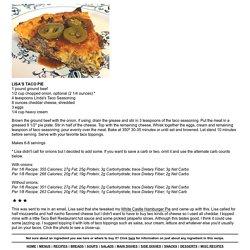 LISA'S TACO PIE - Linda's Low Carb Menus & Recipes