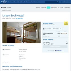Lisbon Soul Hostel in Lisbon, Portugal