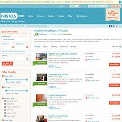 Lisbon Hostels Listings - All Hostels in Lisbon at Hostels