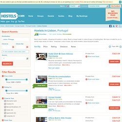 Lisbon Hostels Listings - All Hostels in Lisbon at Hostels