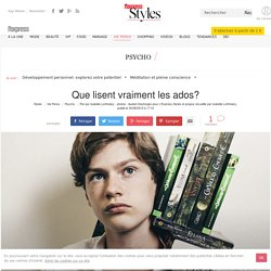 Que lisent vraiment les ados?: L'Express, 08/2013