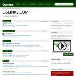 lislinks.com Technology Profile