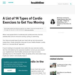 List of Cardio Exercises: 14 Fun Workouts