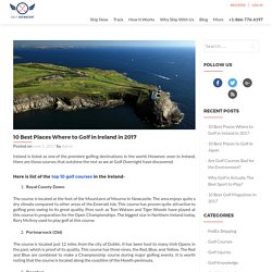 List of the Top 10 Golf Courses in the Ireland