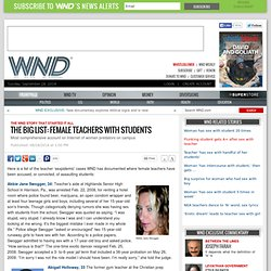 The big list: Female teachers with students