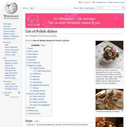 List of Polish dishes