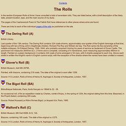 List of the Rolls