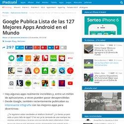 Lista de las 127 Mejores Apps Android de Google Play