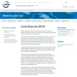 Lista Roja de UICN