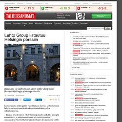 Lehto Group listautuu Helsingin pörssiin