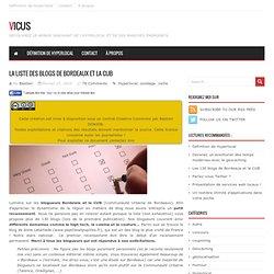 Les 130 blogs de Bordeaux et la CUB