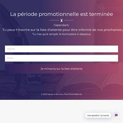 Apprendre l'arabe en ligne - Méthode Facile - Cours d'arabe 24h/24 7j/7