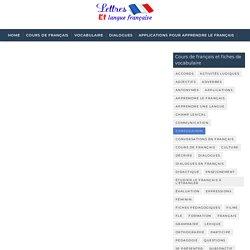 Liste des noms et leurs adjectifs