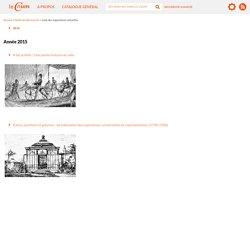 Palais, pavillons et galeries: les bâtiments des expositions universelles en représentation (1798-1900)