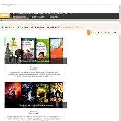 """Listes sur le thème """"littérature jeunesse"""" (Babelio)"""