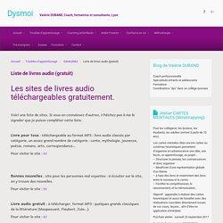 Liste de livres audio (gratuit) - Iceweasel