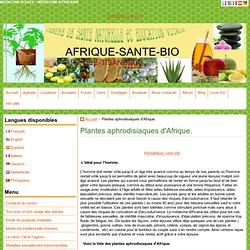 Liste des plantes aphrodisiaques