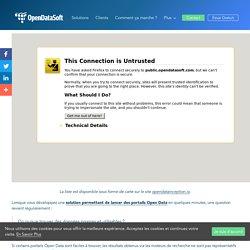La Liste des 2600 Portails Open Data à Travers le Monde