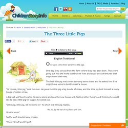 Read & Listen The Three Little Pigs Fairy Tale for Children's