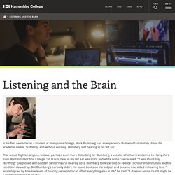 Listening and the Brain