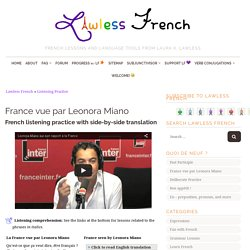France vue par Leonora Miano - French Listening Comprehension