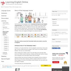 Listening Comprehension: Story of the language course