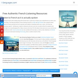 French Listening Resources: Listen & Read to Improve your French Comprehension - Download mp3s & Transcripts