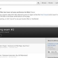 Listening exam #2