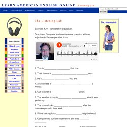 Listening Lab Exercise 30
