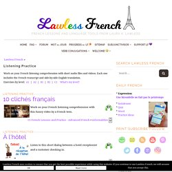 French Listening Practice - Learn French at Lawless French