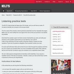 Listening practice tests
