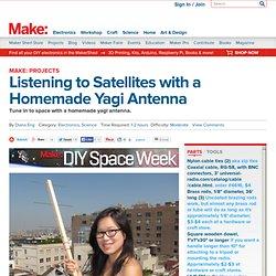 Listening to Satellites with a Homemade Yagi Antenna