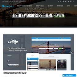 Listify WordPress Theme Review