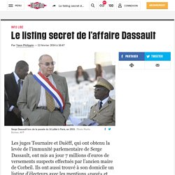 Le listing secret de l'affaire Dassault