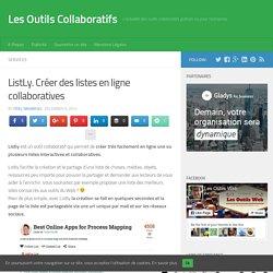 ListLy. Créer des listes en ligne collaboratives