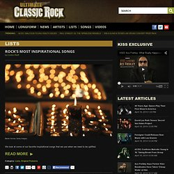 Lists - Ultimate Classic Rock