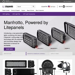 Litepanels | Award Winning LED Lighting for Video, Still Photo & Motion Picture Production