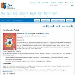 YALSA Teen Literacies Toolkit