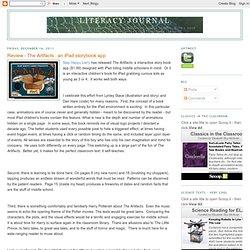Diario de Alfabetización: Revisión - Los artefactos: un libro de cuentos aplicación iPad
