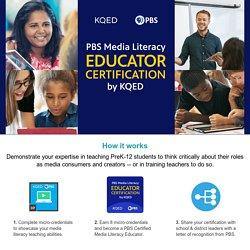 Media Literacy Educator Certification