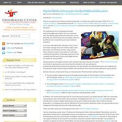 Digital Media Literacy for Early Childhood Educators