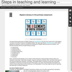 Digital Literacy in the primary classroom