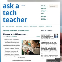 Literacy In K-5 Classrooms