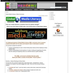 Global Media Literacy: A New Curriculum | Salzburg Global Seminar
