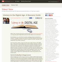 Literacy in the Digital Age: A Resource Guide