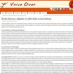 Media literacy e digitale: le sfide della scuola italiana