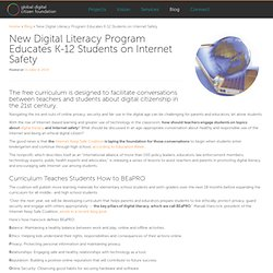 New Digital Literacy Program Educates K-12 Students on Internet Safety